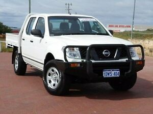 2008 Nissan Navara D40 RX White 6 Speed Manual Utility Spearwood Cockburn Area Preview