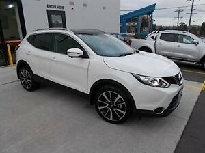 2016 Nissan Qashqai J11 TL White 1 Speed Constant Variable Wagon Burwood Whitehorse Area Preview