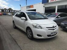 2007 Toyota Yaris NCP93R YRS White 4 Speed Automatic Sedan Maidstone Maribyrnong Area Preview