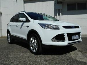 2016 Ford Kuga TF MY16.5 Trend PwrShift AWD White 6 Speed Sports Automatic Dual Clutch Wagon Bundoora Banyule Area Preview