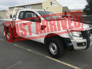 2013 Ford Ranger PX XL Super Cab White 6 Speed Manual Utility Derwent Park Glenorchy Area Preview