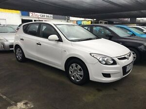 2010 Hyundai i30 FD MY11 SX White 4 Speed Automatic Hatchback Maidstone Maribyrnong Area Preview