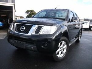 2014 Nissan Navara D40 S6 MY12 ST Black 5 Speed Sports Automatic Utility Cooee Burnie Area Preview