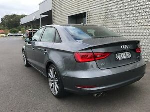 2016 Audi A3 8V MY16 Attraction S tronic Grey 7 Speed Sports Automatic Dual Clutch Sedan Coffs Harbour Coffs Harbour City Preview
