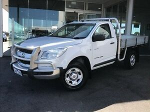 2013 Holden Colorado RG MY13 DX White 5 Speed Manual Cab Chassis Morwell Latrobe Valley Preview
