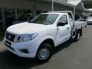 2015 Nissan Navara White Manual Cab Chassis Coffs Harbour Coffs Harbour City Preview