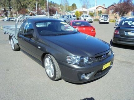 2007 Ford Falcon BF Mk II XR6 Ute Super Cab Grey 5 Speed Manual Utility Vale Of Clwydd Lithgow Area Preview