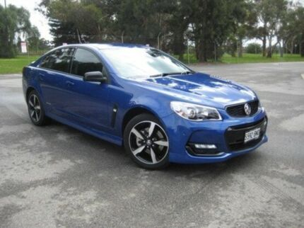 2016 Holden Commodore VF II MY16 SS Black Blue 6 Speed Sports Automatic Sedan Elizabeth Playford Area Preview