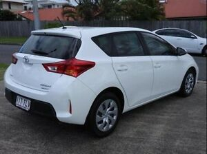 2013 Toyota Corolla ZRE182R Ascent White 6 Speed Manual Hatchback Morningside Brisbane South East Preview