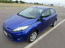 2012 Ford Fiesta WT CL Blue 5 Speed Manual Hatchback Hyde Park Townsville City Preview