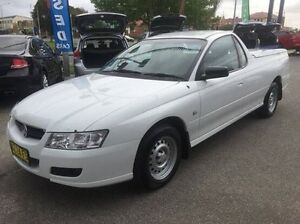 2005 Holden Ute VZ White 4 Speed Automatic Utility Wodonga Wodonga Area Preview