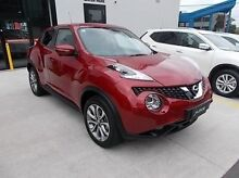 2015 Nissan Juke F15 Series 2 Ti-S 2WD Red 6 Speed Manual Hatchback Burwood Whitehorse Area Preview