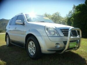 2008 Ssangyong Rexton Y220 II MY08 RX270 Silver 5 Speed Sports Automatic Wagon Townsville Townsville City Preview