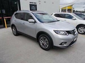 2016 Nissan X-Trail T32 Ti X-tronic 4WD Silver 7 Speed Constant Variable Wagon Burwood Whitehorse Area Preview