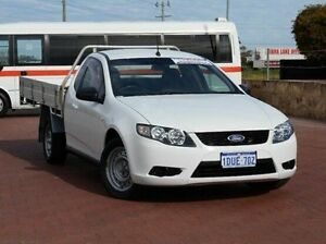 2011 Ford Falcon FG Super Cab White 6 Speed Sports Automatic Cab Chassis Spearwood Cockburn Area Preview