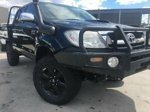 2010 Toyota Hilux KUN26R MY10 SR5 Black 5 Speed Manual Utility Invermay Launceston Area Preview