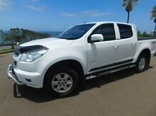 2013 Holden Colorado RG MY13 LT Crew Cab White 6 Speed Sports Automatic Utility Maroochydore Maroochydore Area Preview