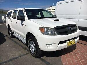 2008 Toyota Hilux KUN26R MY08 SR White 4 Speed Automatic Utility Seaford Frankston Area Preview