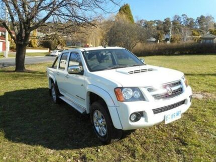 2011 Holden Colorado RC MY11 LT-R Crew Cab Alpine White 4 Speed Automatic Utility Derwent Park Glenorchy Area Preview