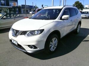 2016 Nissan X-Trail T32 ST-L X-tronic 4WD White 7 Speed Constant Variable Wagon Blackburn Whitehorse Area Preview