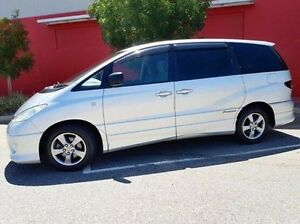 2004 Toyota Tarago ACR30R MY03 GLX Silver 4 Speed Automatic Wagon Cannington Canning Area Preview