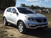2012 Kia Sportage SL MY13 SI Silver 6 Speed Sports Automatic Wagon Dubbo 2830 Dubbo Area Preview