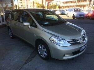 2011 Nissan Tiida C11 Series 3 MY10 ST Gold 4 Speed Automatic Hatchback South Fremantle Fremantle Area Preview
