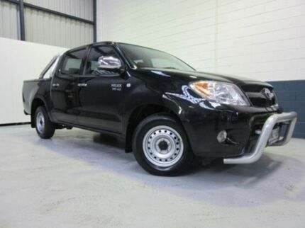 2007 Toyota Hilux GGN15R MY07 SR5 Ink 5 Speed Automatic Utility Blair Athol Port Adelaide Area Preview
