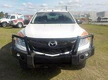 2013 Mazda BT-50  White Manual Utility Pakenham Cardinia Area Preview