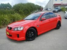 2007 Holden Commodore VE SV6 Red 6 Speed Manual Sedan Windsor Hawkesbury Area Preview