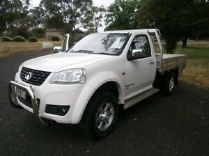 2012 Great Wall V200 K2 MY12 White 6 Speed Manual Cab Chassis Mitchell Bathurst City Preview