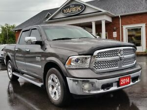 2014 Ram 1500 Laramie 4x4, Nav, Air Suspension, Bluetooth, Heate
