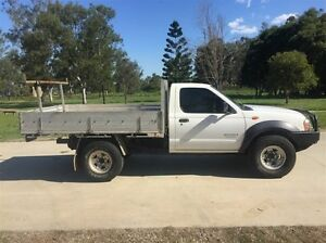 2003 Nissan Navara D22 DX (4x4) White 5 Speed Manual 4x4 Cab Chassis Salisbury Brisbane South West Preview
