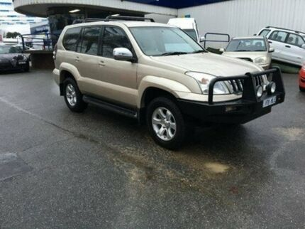 2006 Toyota Landcruiser Prado KZJ120R GXL Bronze 5 Speed Manual Wagon