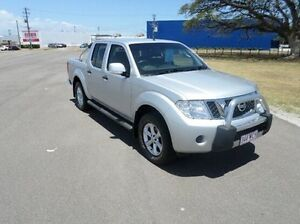 2012 Nissan Navara D40 S6 MY12 ST Silver 5 Speed Sports Automatic Utility Hyde Park Townsville City Preview