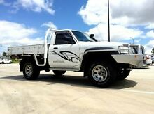 2007 Nissan Patrol GU 6 MY08 DX White 5 Speed Manual Cab Chassis Mackay 4740 Mackay City Preview