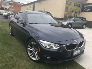 2015 BMW 4 Series 428i xDrive/AWD/SUNROOF/NAVIGATION/BACK CAM