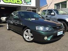 2006 Ford Falcon BF Mk II XR6 Green 6 Speed Sports Automatic Sedan Launceston 7250 Launceston Area Preview