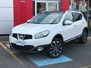2013 Nissan Dualis J10W Series 4 MY13 Ti-L Hatch X-tronic 2WD White 6 Speed Constant Variable Meadow Heights Hume Area Preview