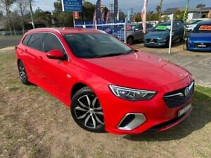 2018 Holden Commodore ZB RS Red 9 Speed Automatic Sportswagon Dapto Wollongong Area Preview