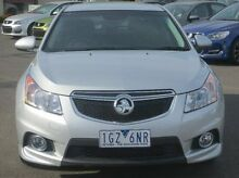 2013 Holden Cruze JH Series II MY14 SRi Silver 6 Speed Manual Hatchback Coolaroo Hume Area Preview