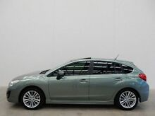 2015 Subaru Impreza G4 MY15 Green 6 Speed Constant Variable Hatchback Braeside Kingston Area Preview