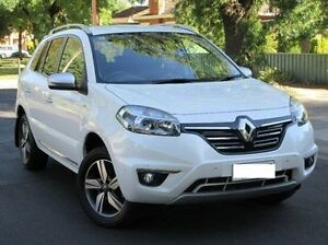2014 Renault Koleos H45 Phase III Bose White 1 Speed Constant Variable Wagon Medindie Gardens Prospect Area Preview