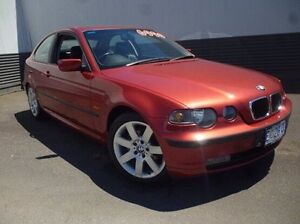 2003 BMW 318TI E46/5 MY03 Red 5 Speed Manual Hatchback Invermay Launceston Area Preview