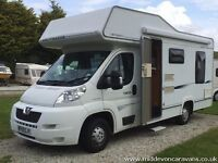 Compass Avantgarde 150, Peugeot Boxer, 4 Berth Luxury, only 12,500 miles........