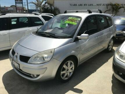 2008 Renault Grand Scenic J84 Phase II Dynamique Silver 4 Speed Automatic Wagon St James Victoria Park Area Preview