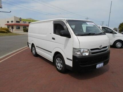 2010 Toyota Hiace TRH201R MY11 LWB White 5 Speed Manual Van Spearwood Cockburn Area Preview