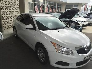 2012 Holden Cruze  White Sports Automatic Sedan East Kempsey Kempsey Area Preview