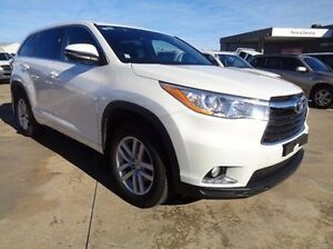 2015 Toyota Kluger KLUGER 4X2 GX 3.5L PETROL AUTOMATIC WAGON 9M66810 001 Crystal Pearl Automatic Melton Melton Area Preview