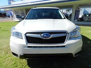 2014 Subaru Forester S4 MY14 2.0D AWD White 6 Speed Manual Wagon Victoria Park Victoria Park Area Preview